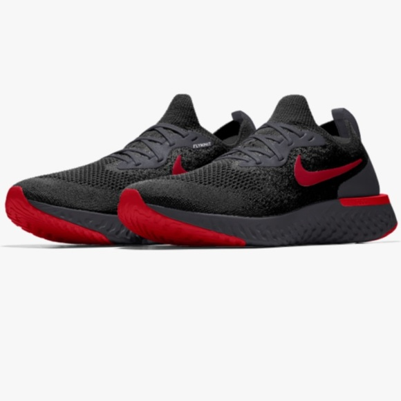 quality design 68018 db630 ... Free 4.0 Flyknit Women Black Grey White Running Shoes 🚹Nike Epic React Flyknit  iD ...
